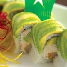 Shrimp Caterpillar Roll